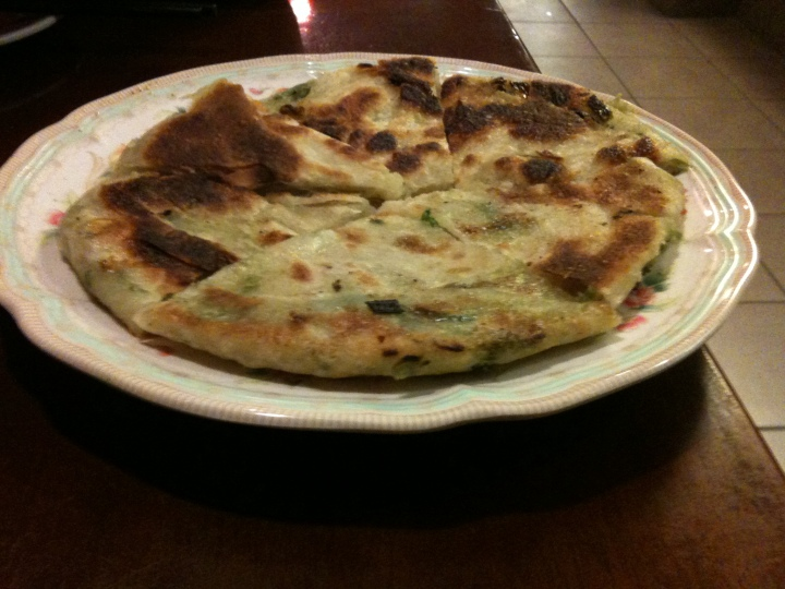 Green onion pancake