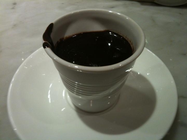 Hot Chocolate straight up